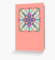 The mirror card Greeting Card