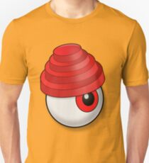 Devo Eyeball (red) Slim Fit T-Shirt