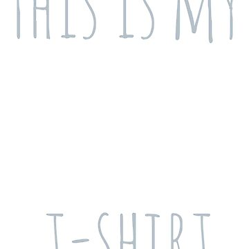 This is my leave me alone t-shirt by FandomizedRose