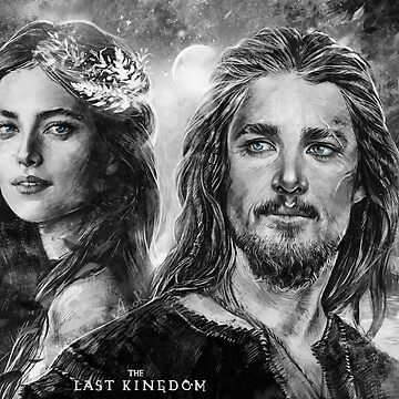 Uhtred and Aethelflaed  by JustAnor