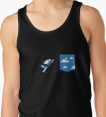 Camisetas de tirantes para hombre Bolsillo espacial