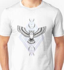 Hibou mystique T-shirt unisexe