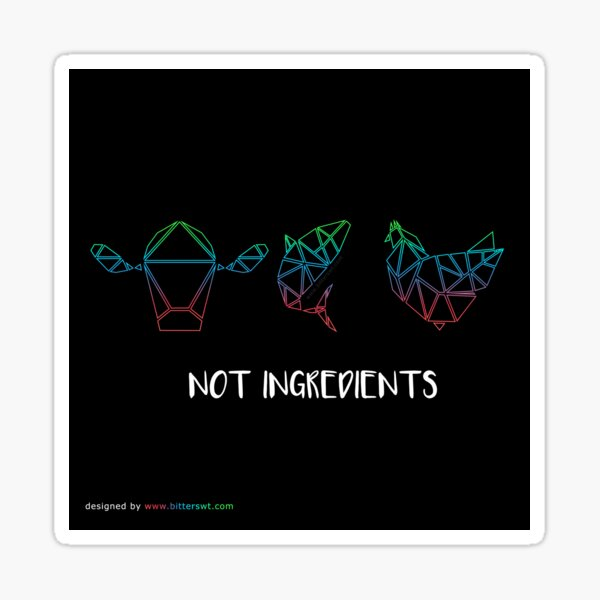 Not ingredients Pegatina