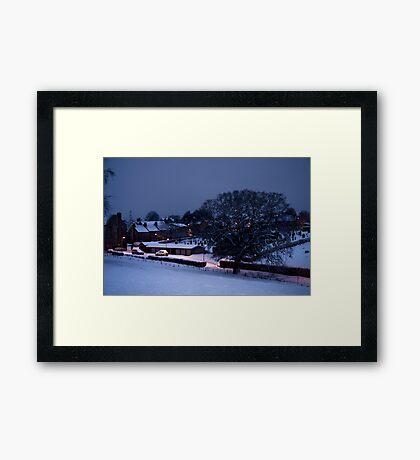 Smithy Brae - Kirknewton Framed Print