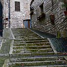 Back Streets of Assisi by rrushton