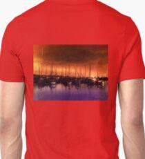 San Diego Harbor Midnight Moon Unisex T-Shirt