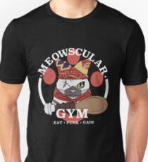 Meowscular Gym Unisex T-Shirt
