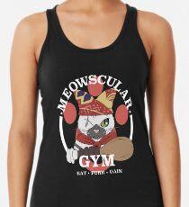 Meowscular Gym Women's Tank Top