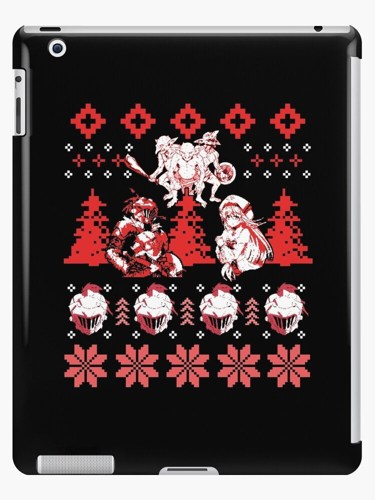 Anime Christmas Sweater.Goblin Slayer Christmas Sweater Anime Shirt Ipad Case Skin By Mzethner