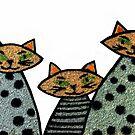 CAT FAMILY! by Heather Friedman