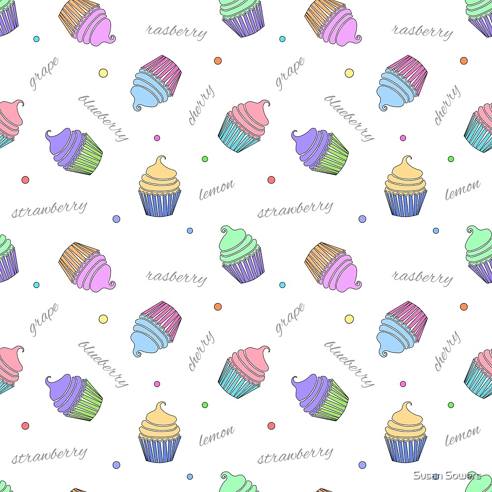Cupcakes by Susan Sowers