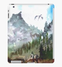 """Near Whiterun"" - The Elder Scrolls V: Skyrim - Watercolour iPad Case/Skin"