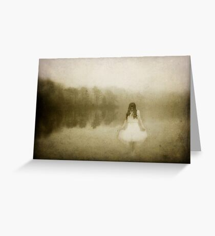 Phantom of The Lake Greeting Card