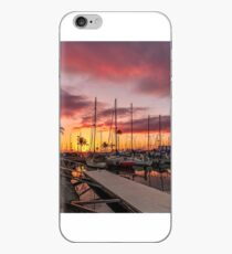 Tropical Sunset and Romantic Boardwalk iPhone Case