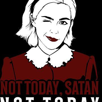 Not today Satan - Sabrina by DalyRincon
