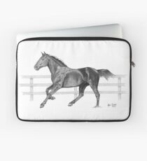 Horse Drawing Laptop Sleeve