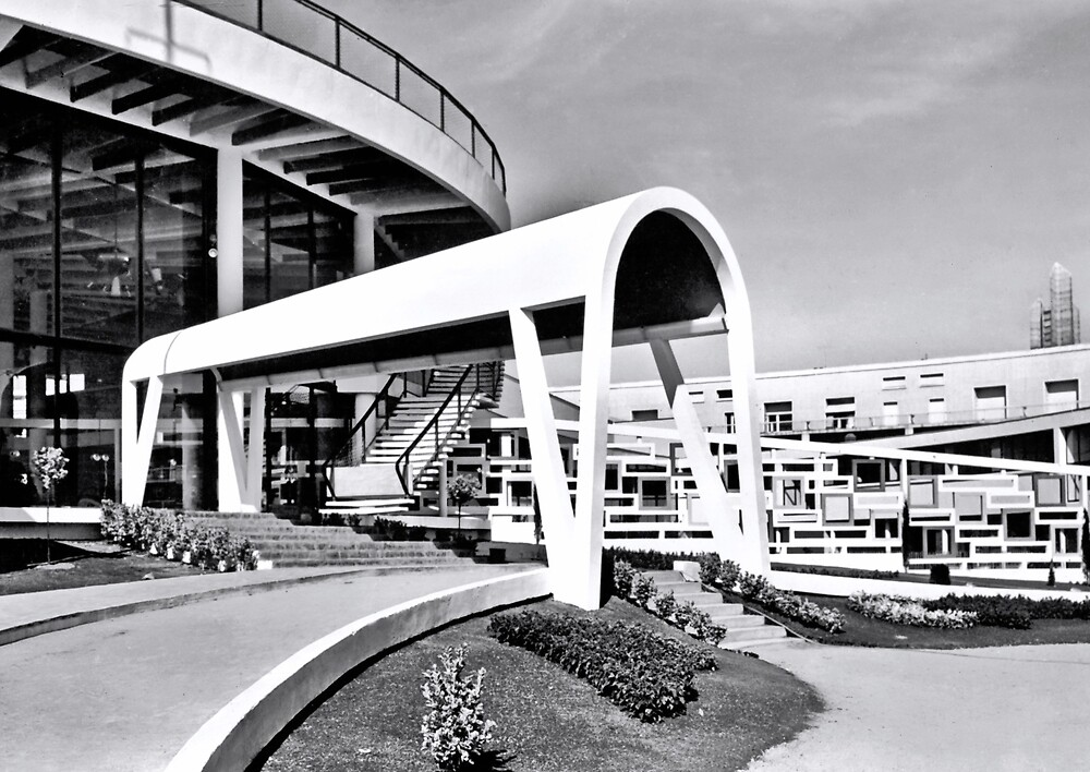 « Casino municipal de Royan, années 60 (2) » par Francois Richet