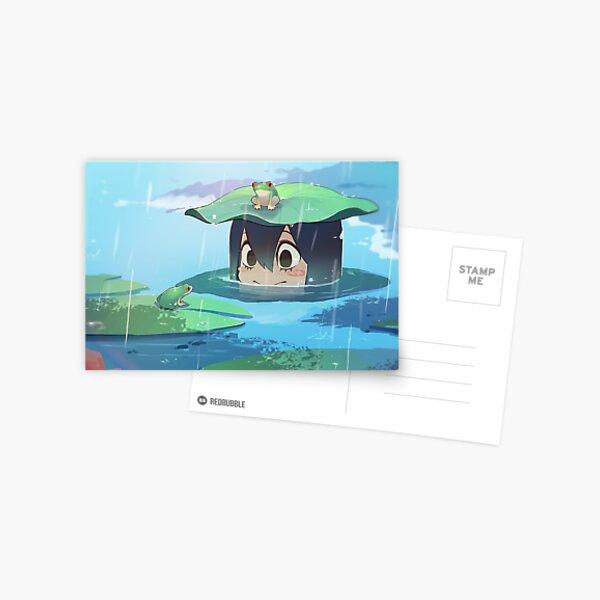 my hero academia - froppy Postcard