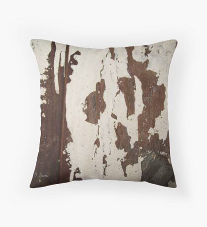 Ghost in the Wall Throw Pillow