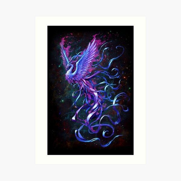Fenix blue ver. Art Print