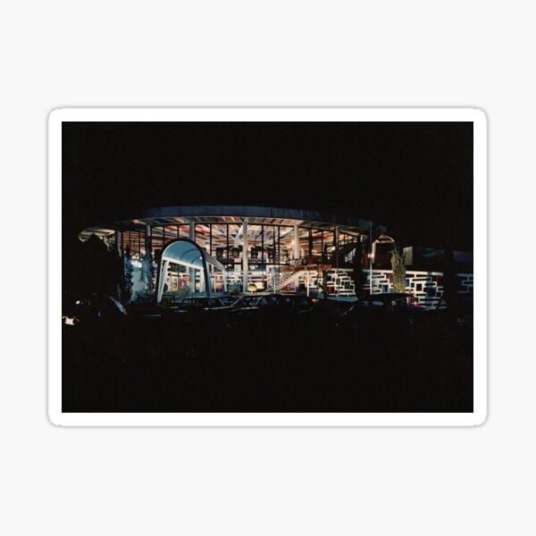 Royan Casino Municipal de nuit, années 60 (2) Sticker