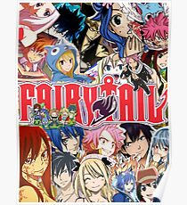 Fairy Tail Poster !! Poster