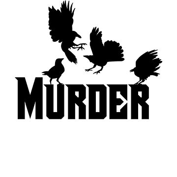 Reading Classic Literature Book Lover Authors Murder of Ravens Crows by zot717