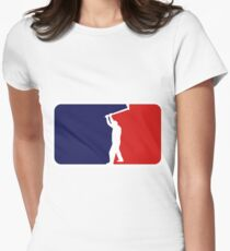 Logging Women's Fitted T-Shirt