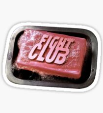 Kampfclub - & quot; Kampfclub & quot; Buchbild Sticker