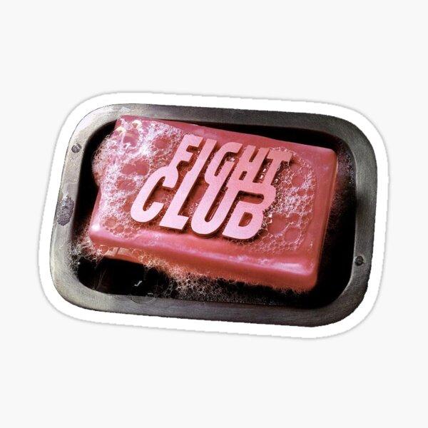 "Fight club - ""fight club"" book image Sticker"