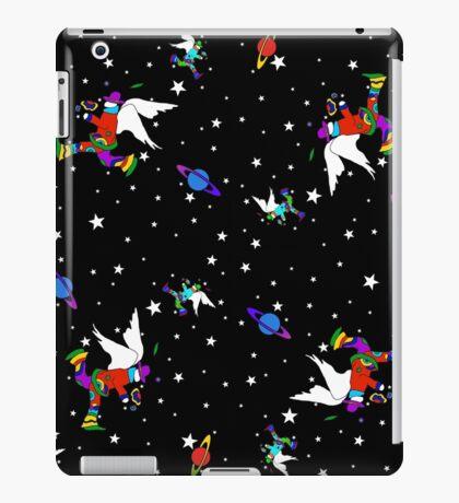 Angel Dudes Starry Night - black iPad Case/Skin