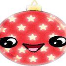 Kawaii Christmas Ornament by KawaiiNMore