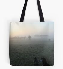 Husky Dawn Tote Bag