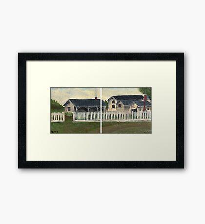 Fort Bridger Framed Print