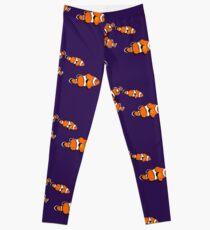 Fish: Clown Fish Leggings