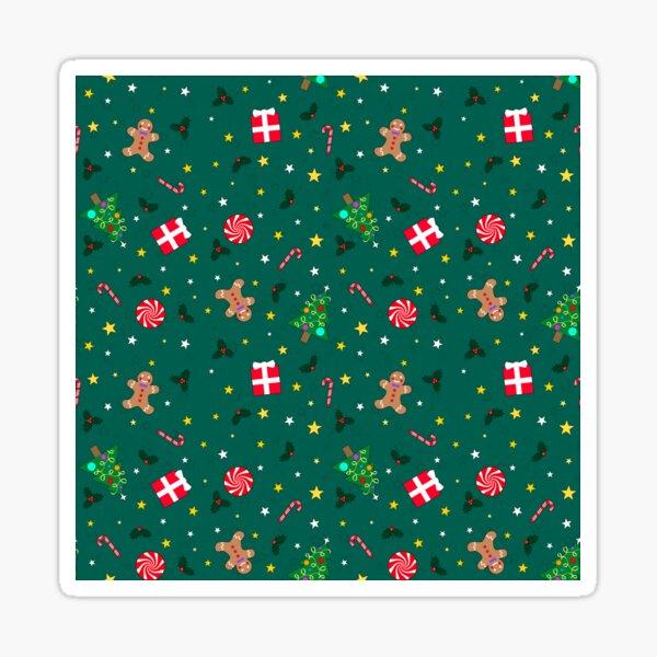 Christmas Holidays - Green Sticker