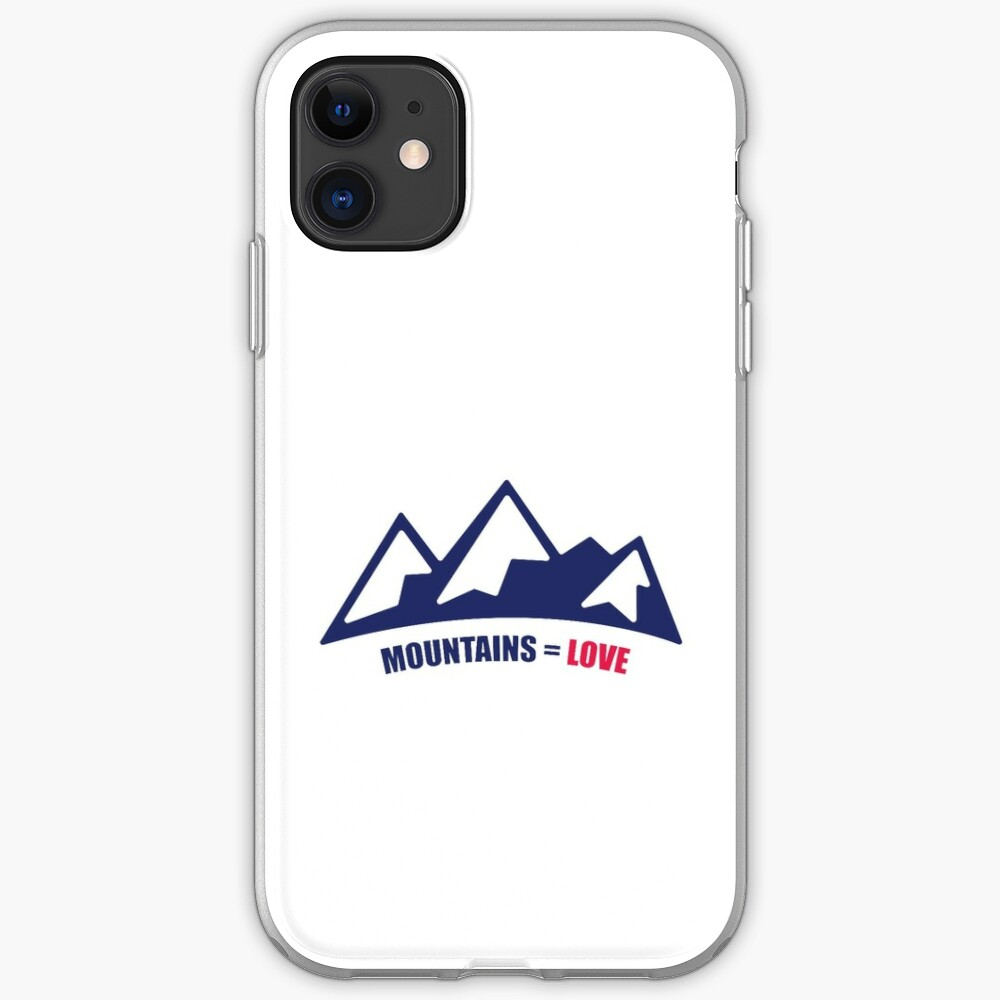 Mountains = Love iPhone Case & Cover