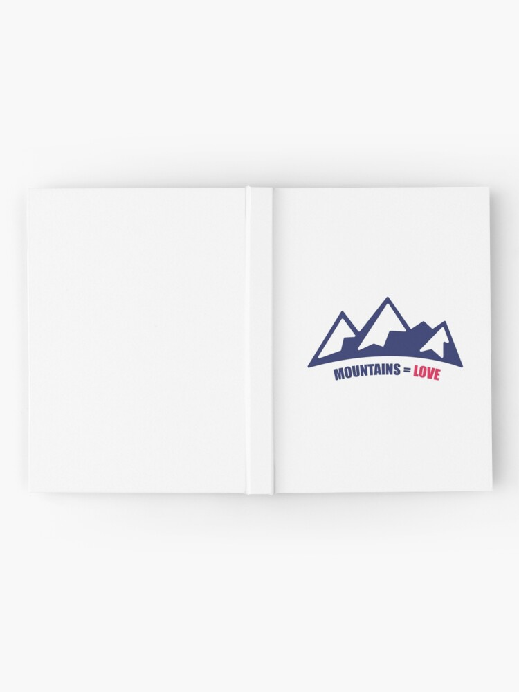 Alternate view of Mountains = Love Hardcover Journal