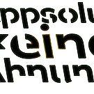 appsolut keine Ahnung [ bunter ] von KSN-Berlin