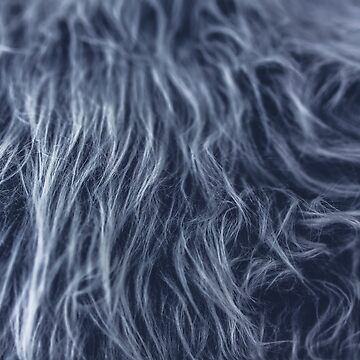 Vegan Grey Wool Fur by koovox