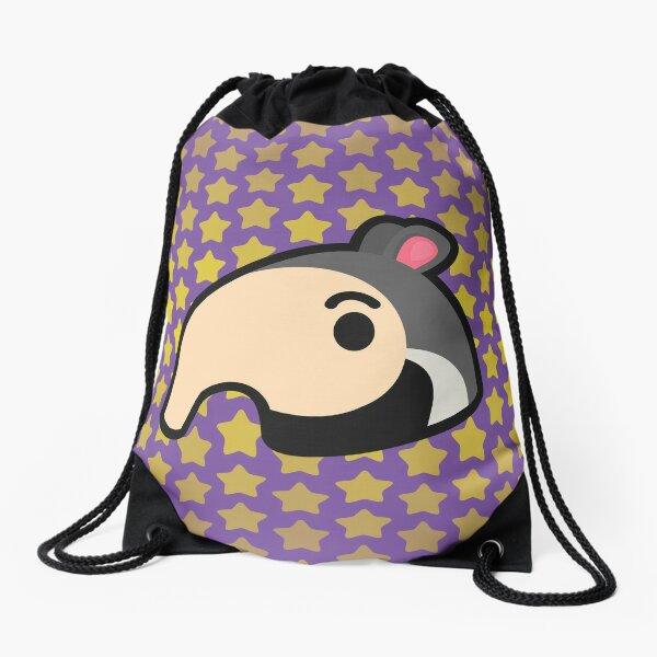 ANTONIO ANIMAL CROSSING  Drawstring Bag