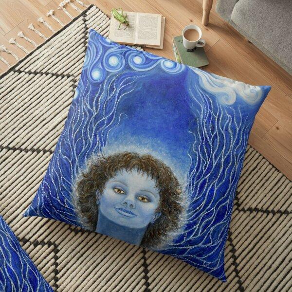 Angelic Realms, Archangel Michael Floor Pillow