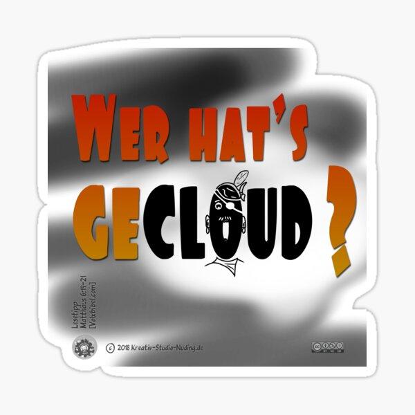 Who hats gecloud? Sticker