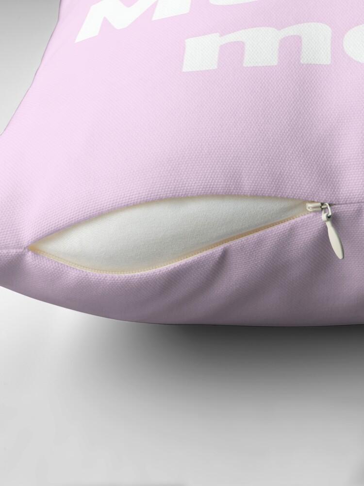 Alternate view of Mini Muntoman Throw Pillow