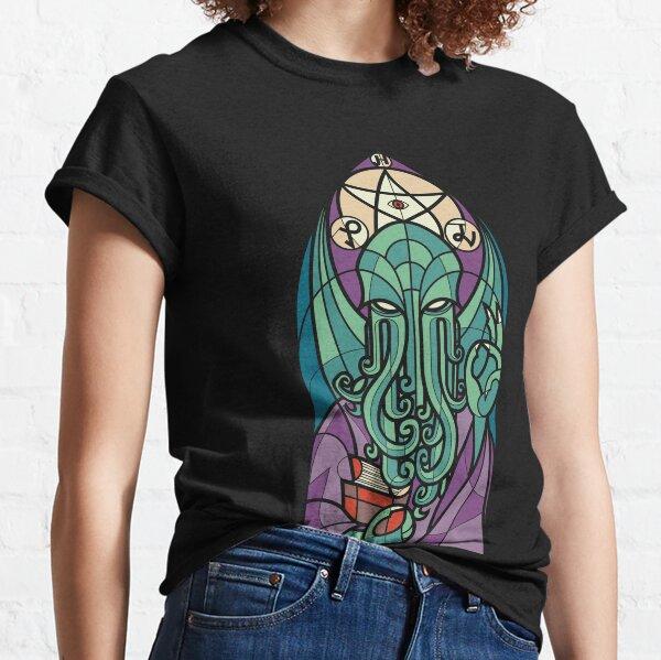Eglise de Cthulhu T-shirt classique