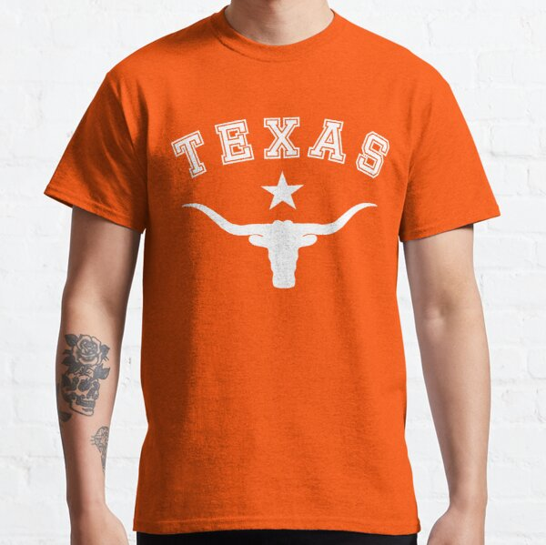 The lone star and the longhorn bull - Texas symbols Classic T-Shirt