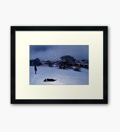 Kirknewton Village Framed Print