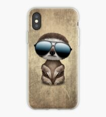 sloth sunglasses iphone cases covers for xs xs max xr x 8 8