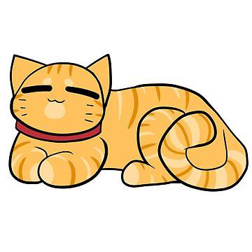 Melocotones el gato de alyssadyerart
