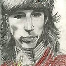 Self portrait study by Tony Sturtevant